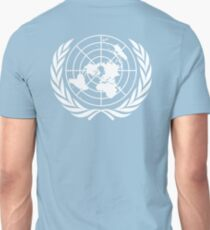 UNITED NATIONS, UN, EMBLEM of the United Nations, EMBLEM OF THE UN, PURE AND SIMPLE T-Shirt