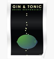 The Art of Drink - Gin & Tonic Poster