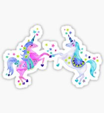 Pastel Unicorns Sticker