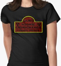 Wade's Atomic Chimichanga Womens Fitted T-Shirt