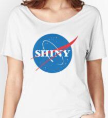Shiny - NASA logo Women's Relaxed Fit T-Shirt