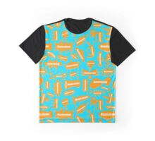 Big Orange Splat! Graphic T-Shirt