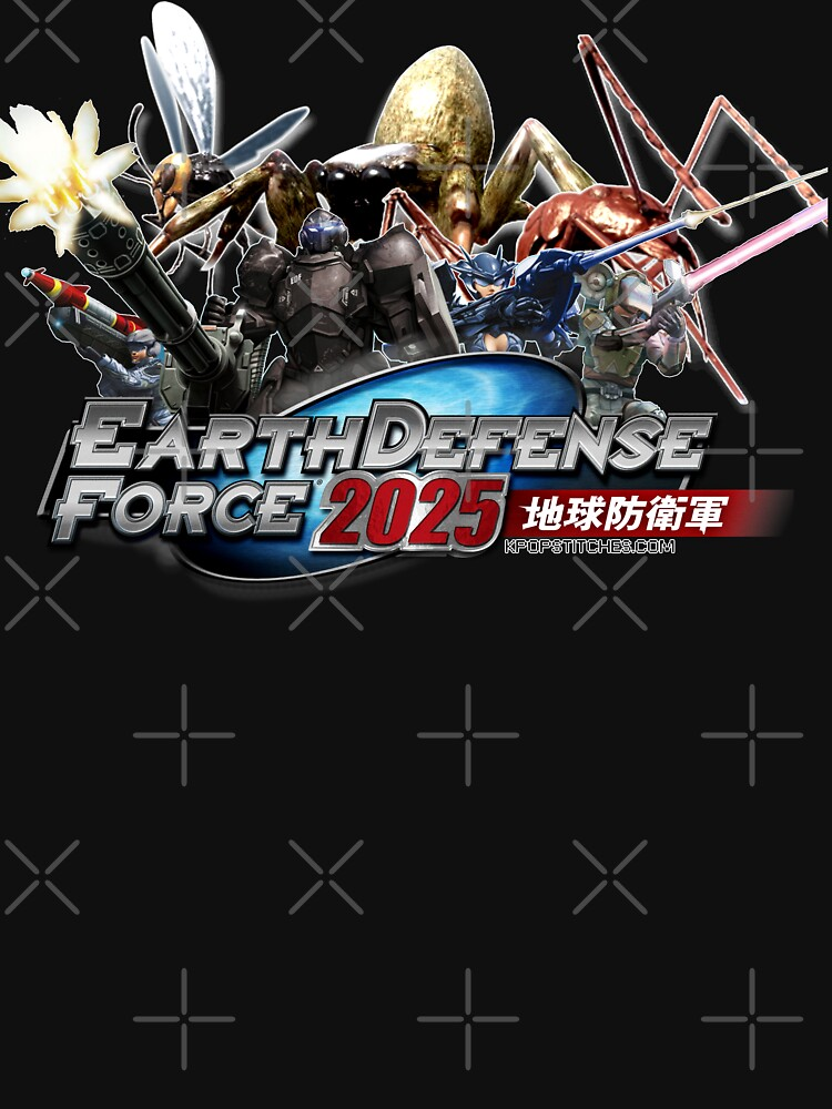 Earth Defense Force 2025 EDF by dubukat