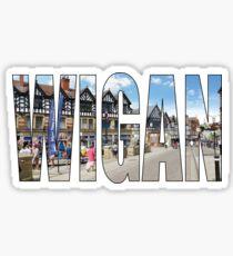 Wigan Sticker
