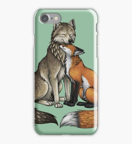 Wolf & Fox iPhone Case/Skin