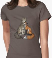 Wolf & Fox Women's Fitted T-Shirt