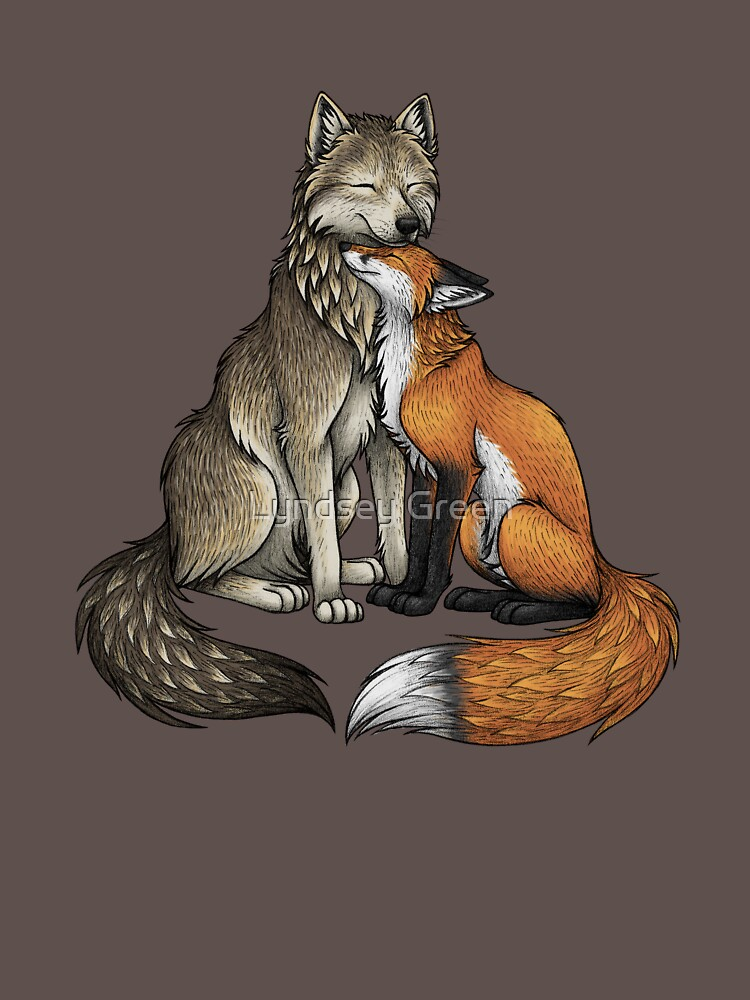 Wolf & Fox de lyndseygreen