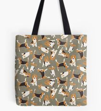 Beagle Scatter Stein Tote Bag