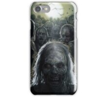 Zombies are rising (T-shirt, Phone Case & more) iPhone Case/Skin