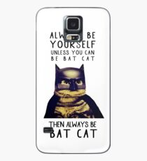 Cat meow super heroes Case/Skin for Samsung Galaxy