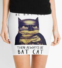 Cat meow super heroes Mini Skirt