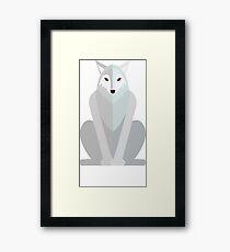 Paper Ghost Framed Print