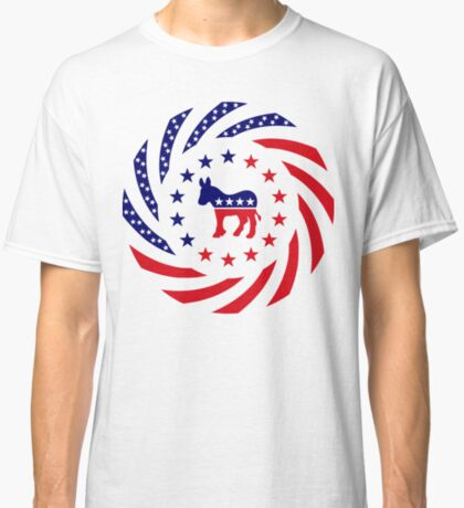 Democratic Murican Patriot Flag Series Classic T-Shirt
