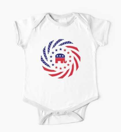 Republican Murican Patriot Flag Series Kids Clothes