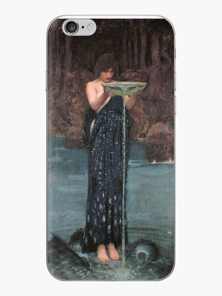 «Circe Invidiosa por John William Waterhouse» de Aconissa