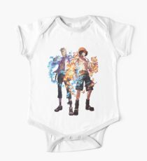 Ace and marco One Piece - Short Sleeve