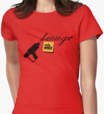 ... and wells! Women's Fitted T-Shirt