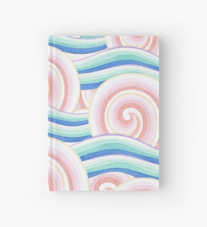 Pink Blue Kimono Bouquet Hardcover Journal