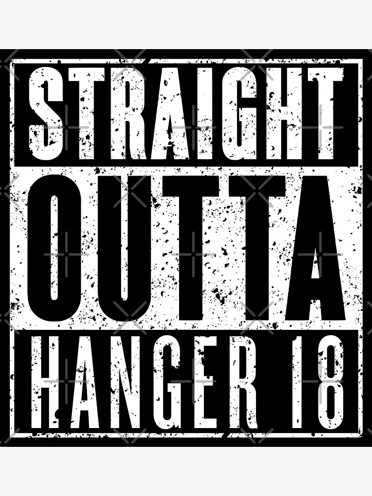 Straight Outta Hanger 18 - Gritty by RoufXis