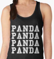Panda Panda Desiigner - White Text Women's Tank Top