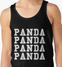 Panda Panda Desiigner - White Text Tank Top