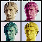 Imperator Augustus pop art by Arsonista Gartzia