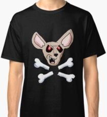 Evil Chihuahua Cartoon Classic T-Shirt
