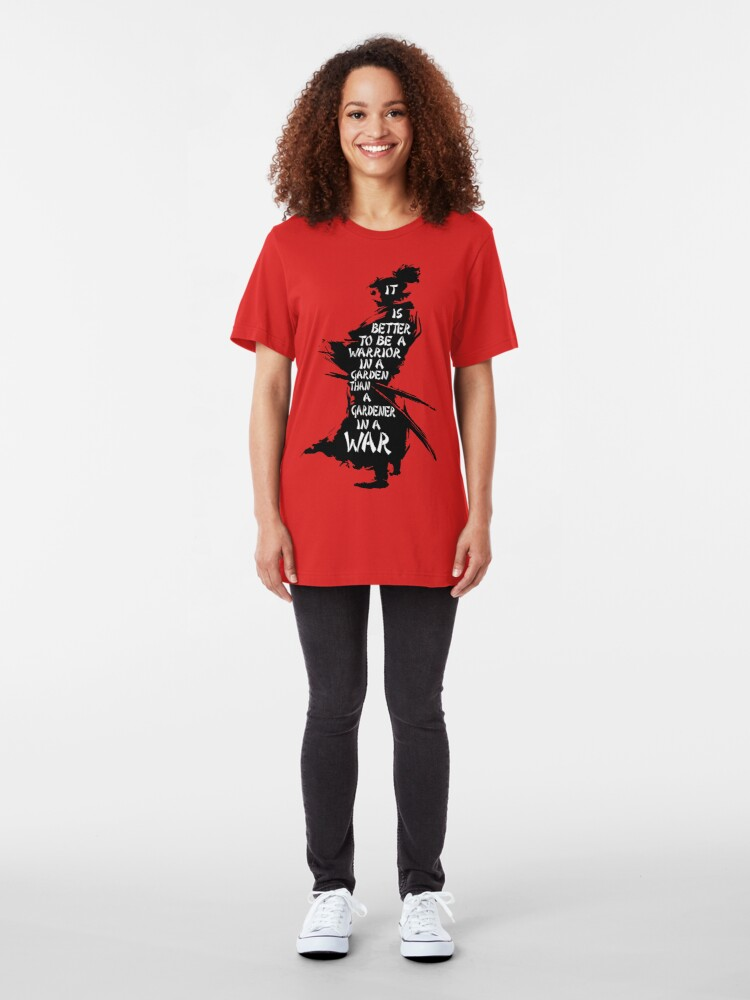 Alternative Ansicht von Garten des Kriegers Slim Fit T-Shirt