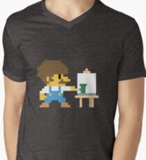 Super BobRossario Bros. T-Shirt