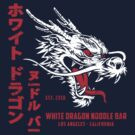 White Dragon Noodle Bar (aged look) by KRDesign