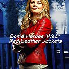 """Some Heroes Wear Red Leather Jackets"" by Marianne Paluso"