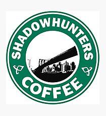 Lámina fotográfica shadowhunters Coffe