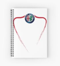 Alfa Romeo of Birmingham front Spiral Notebook