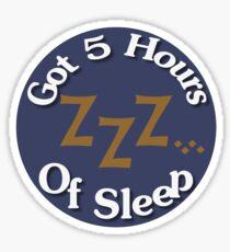 Parental Achievements:  Sleep Sticker