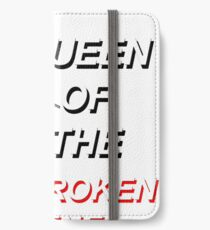 Königin der neuen zerbrochenen Szene - 5SOS iPhone Flip-Case/Hülle/Klebefolie