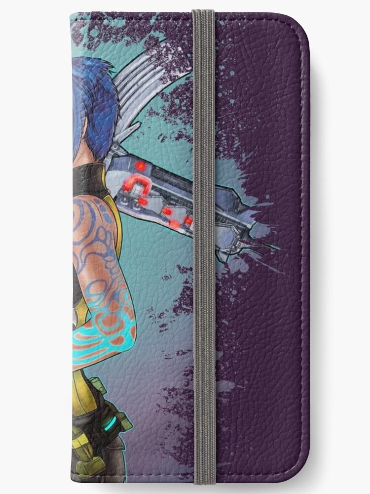 'Borderlands 2 Maya the Siren Splatter Tee' iPhone Wallet by sugarpoultry