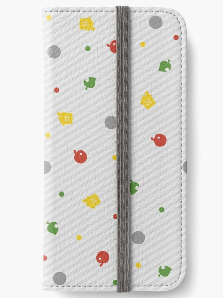 ANIMAL CROSSING NEW LEAF PATTERN IPhone Wallets By Purplepixel Best Animal Crossing New Leaf Patterns
