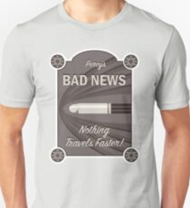 Percy's Bad News - Nothing Travels Faster! T-Shirt