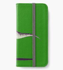 Jesus Riding Dinosaur iPhone Wallet/Case/Skin
