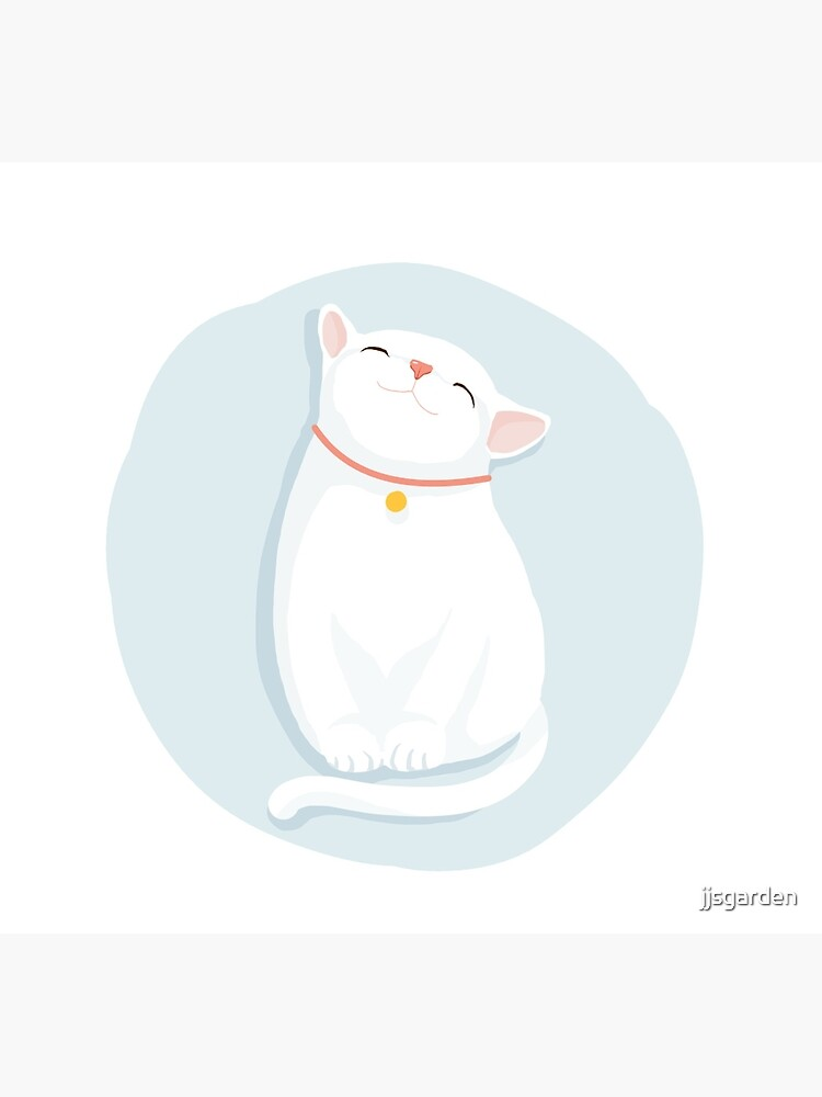 Cat White by jjsgarden