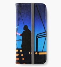 STAR WARS! Luke vs Darth Vader  iPhone Wallet/Case/Skin