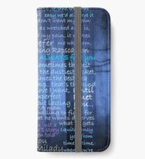 Once Upon A Time Quotes iPhone Wallet/Case/Skin