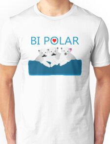 Bi Polar Bears Unisex T-Shirt