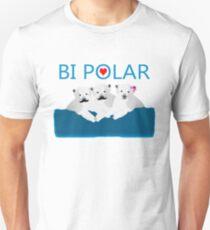 Bi Polar Bears Unisex T-Shirt
