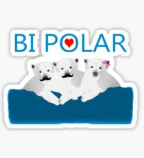Bi Polar Bears Sticker