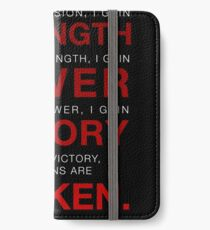 Code of the Sith iPhone Wallet/Case/Skin