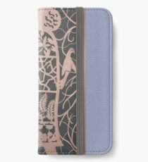 The Acorn Woman in Copper iPhone Wallet/Case/Skin