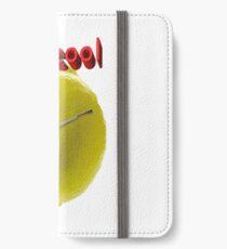 Bleib ruhig iPhone Flip-Case/Hülle/Klebefolie