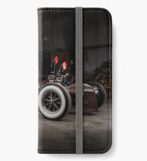 1930 Ford Model A Rat Rod iPhone Wallet/Case/Skin