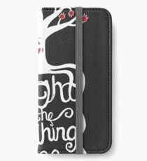 Knight of the Laughing Tree iPhone Wallet/Case/Skin